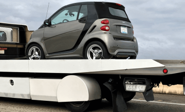 car towing and labor coverage truck